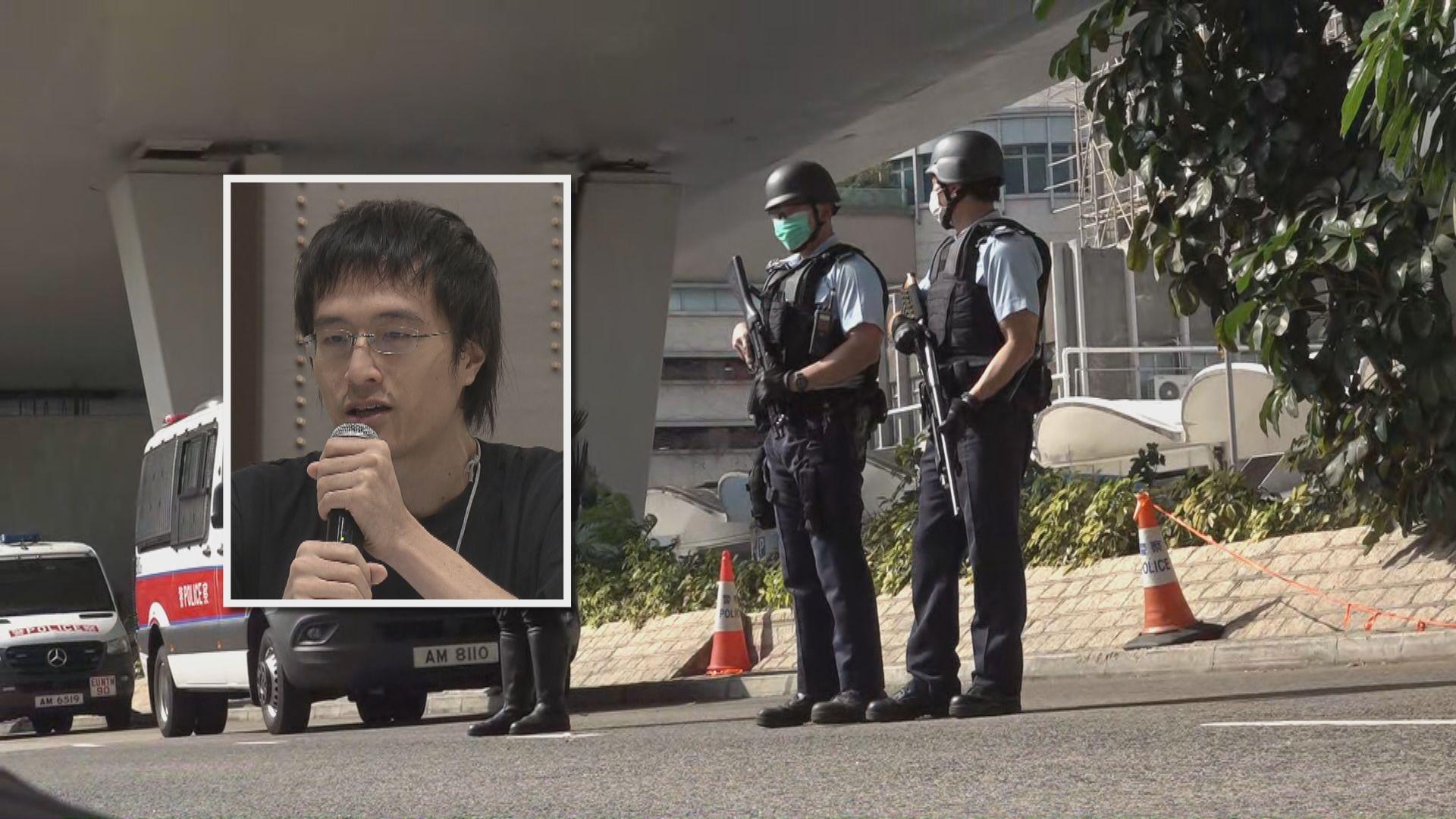 12港人李宇軒代表律師否認是官派律師