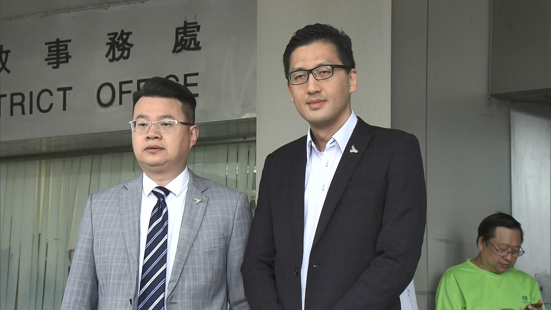 尹兆堅林卓廷妨礙立法會人員案押後明年2月