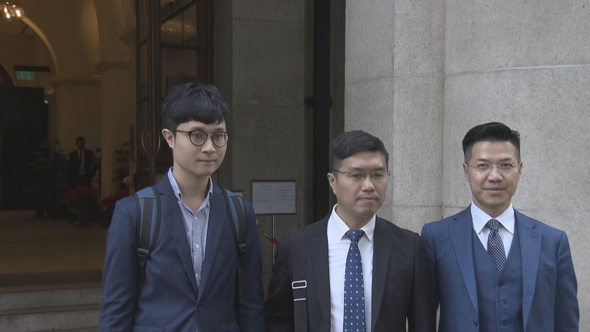 選舉呈請上訴被拒 區諾軒范國威即時失立會議席