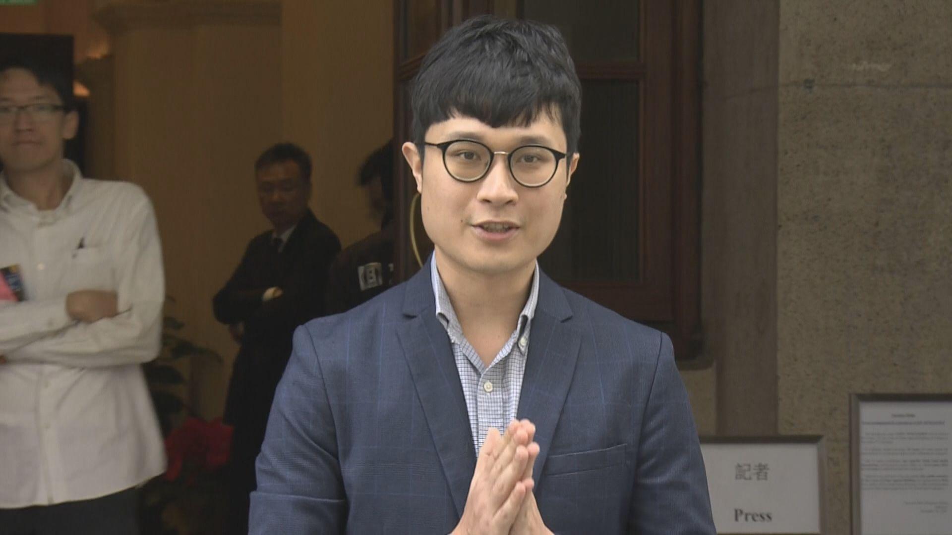 劉頴匡對民主派失議席感可惜 促選舉主任停止政治篩選