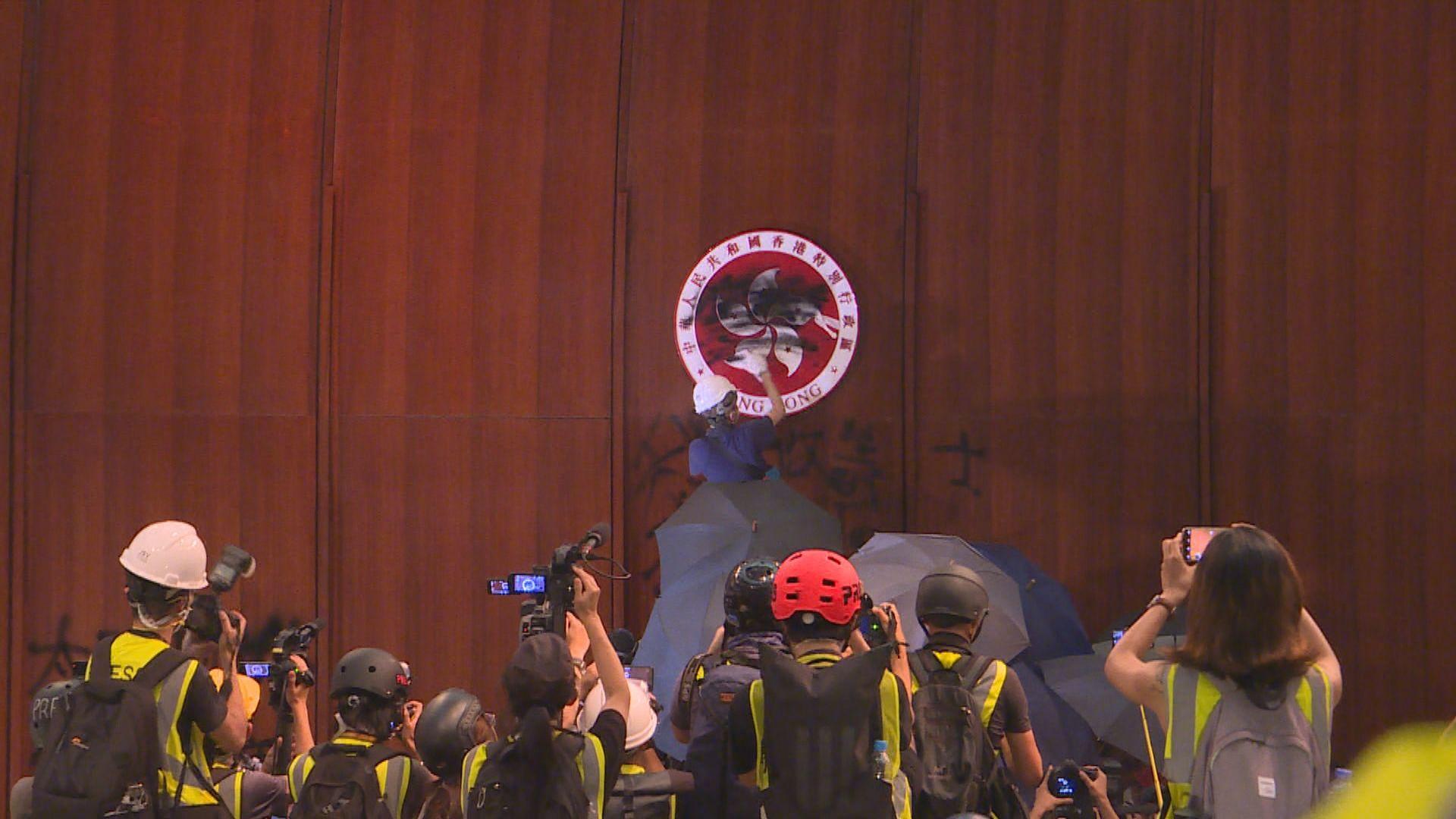 前年七一衝擊立法會 劉頴匡認暴動2023年求情判刑