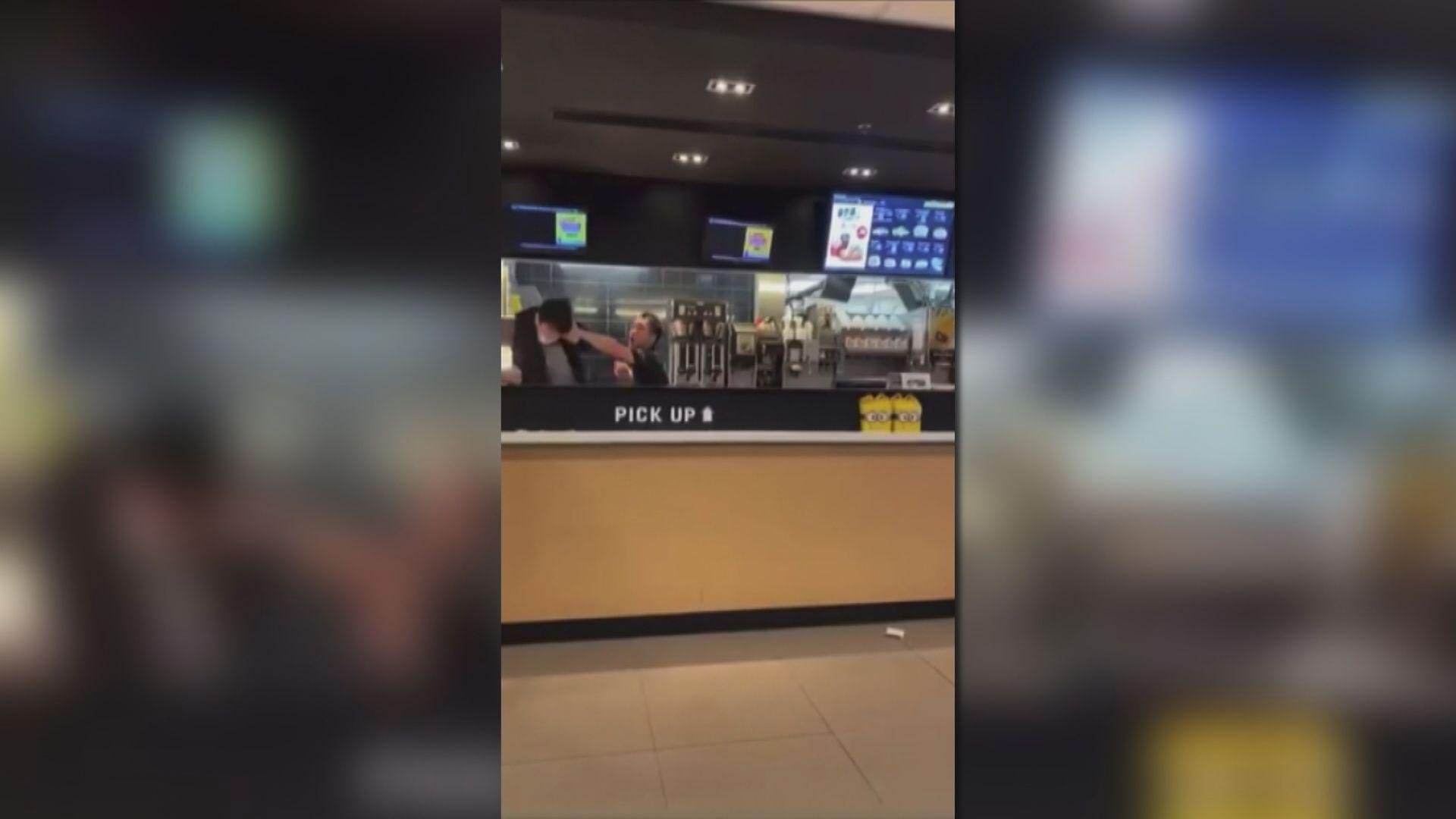 屯門山景邨麥當勞打人案 施襲男子被判社服令
