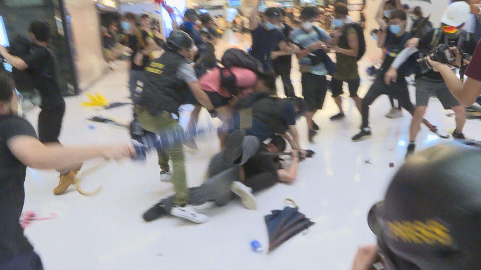 去年沙田新城市衝突 三男認暴動判監3年4個月至4年