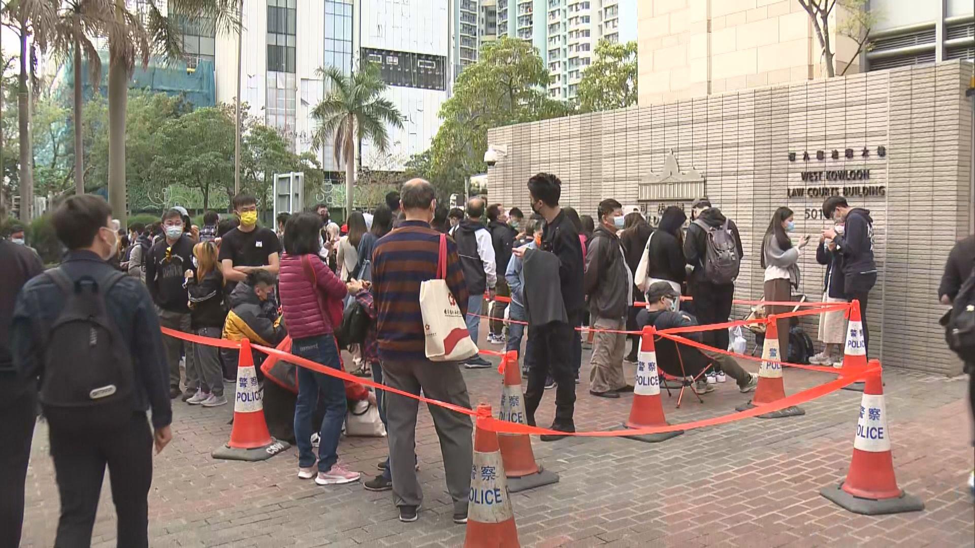47人被控串謀顛覆國家政權 多國外交人員排隊入法院旁聽
