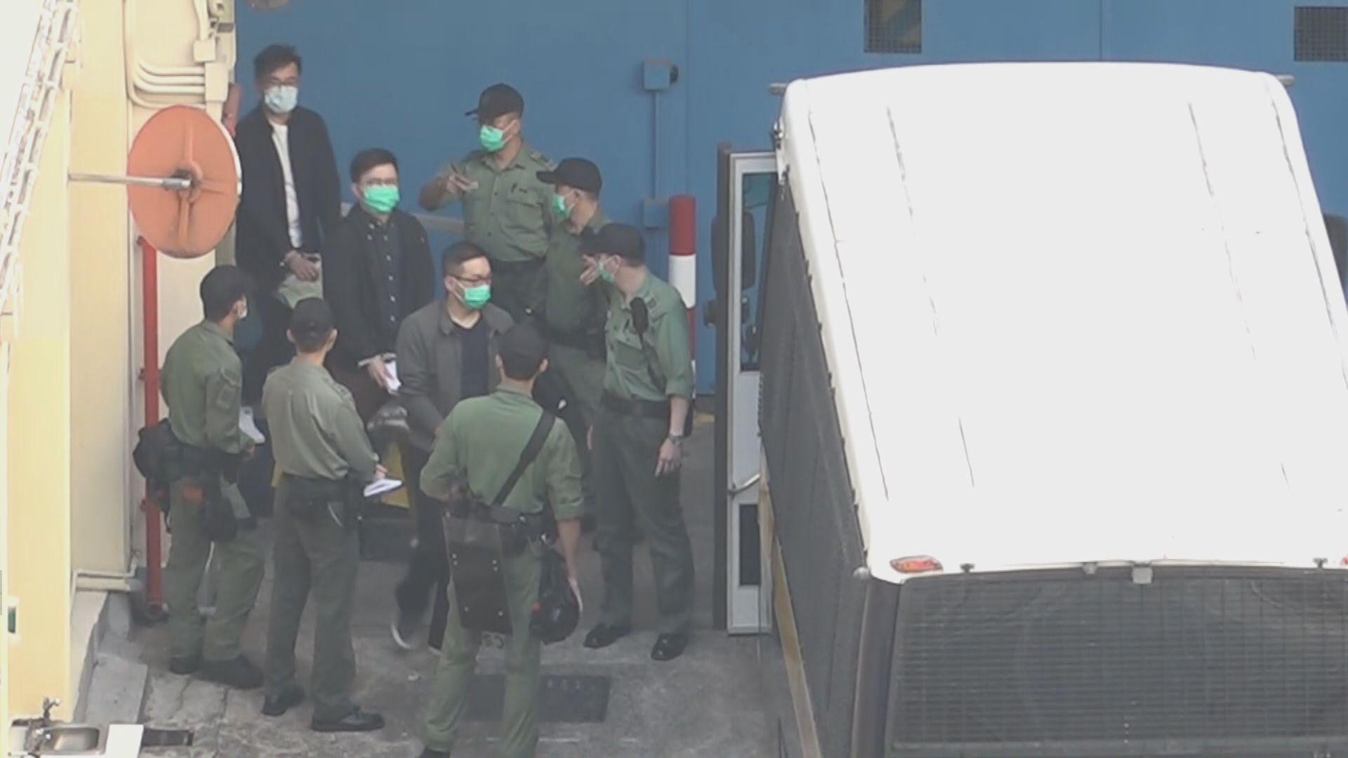 民主派初選案21名被告再申請保釋 岑子杰梁國雄吳政亨再被拒