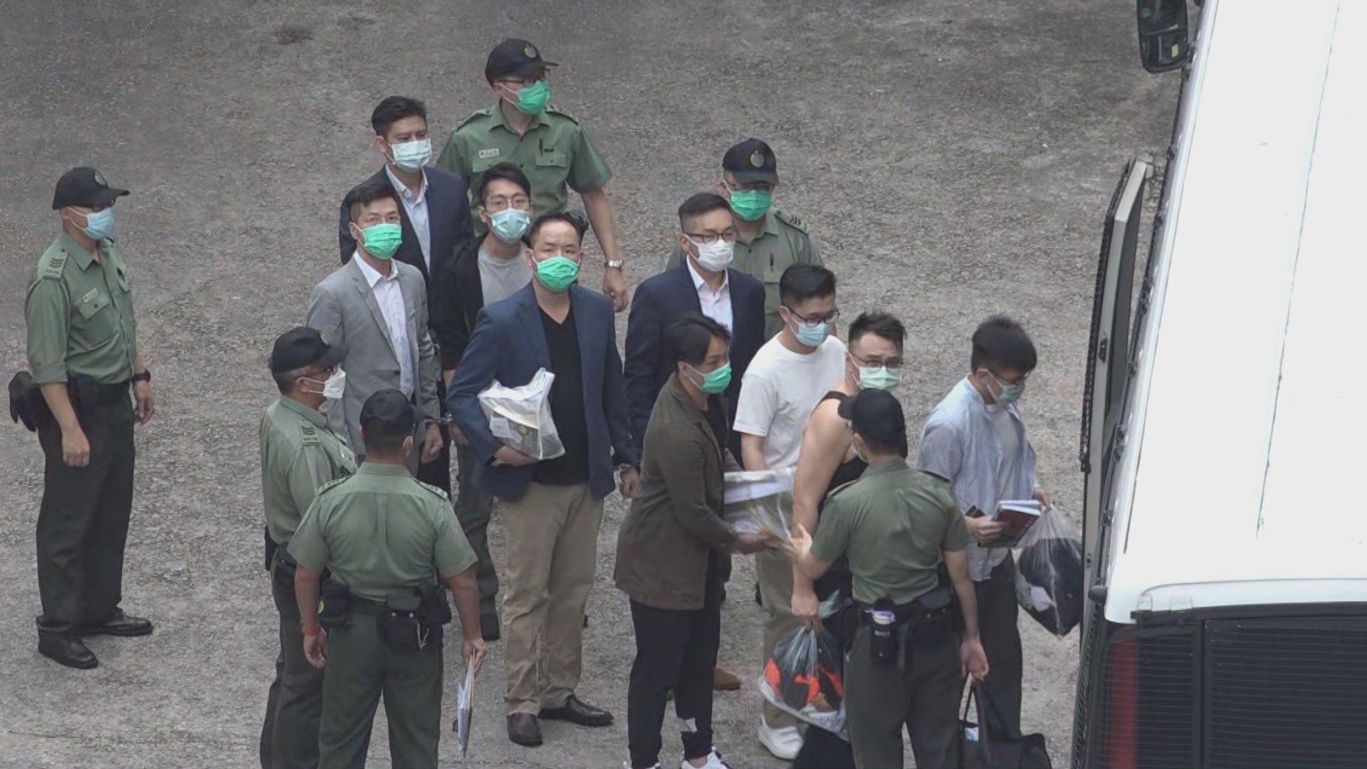 初選案47人涉串謀顛覆國家政權罪再提堂
