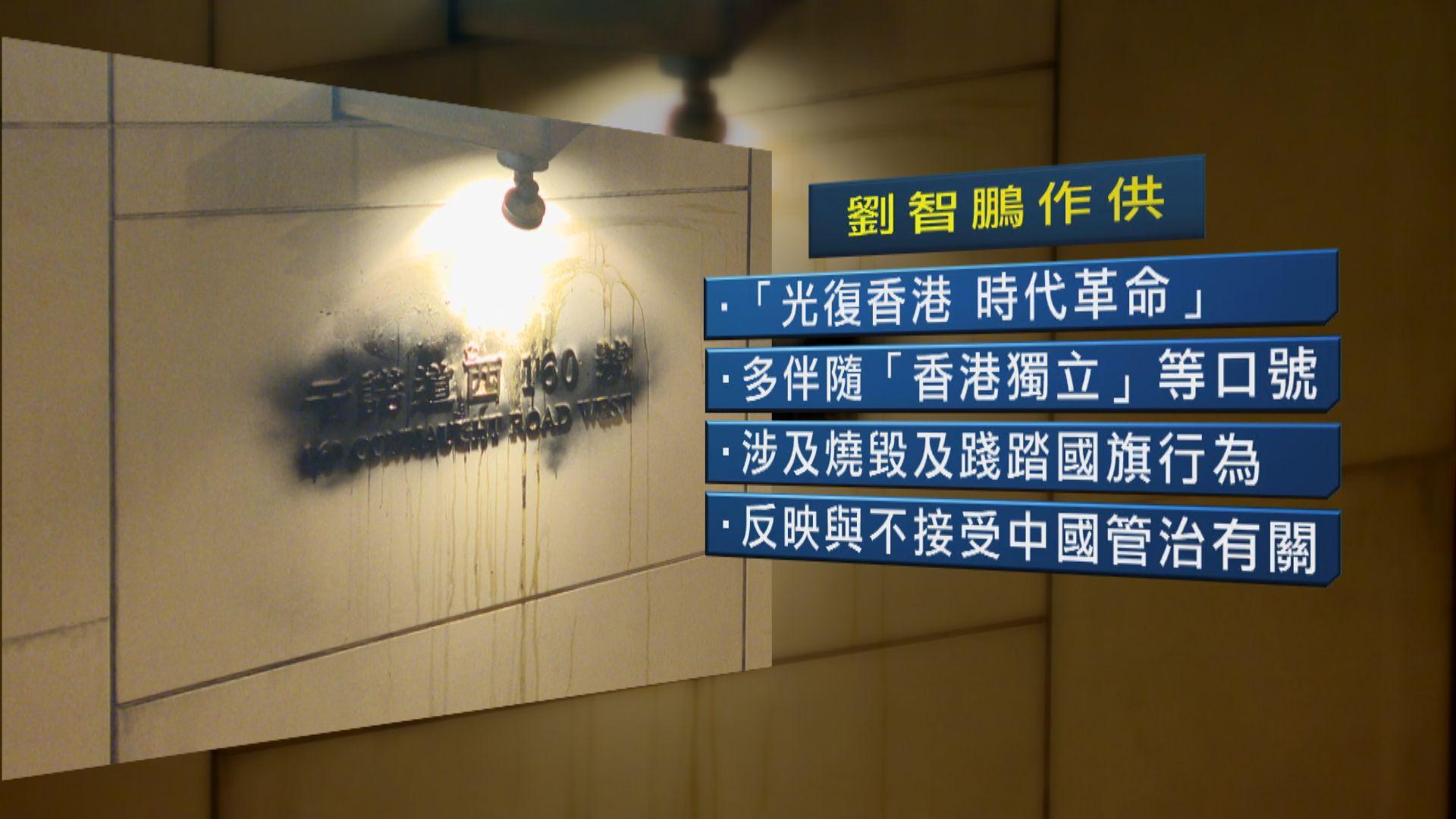 唐英傑案 專家證人:光時口號挑戰中國管治香港意思