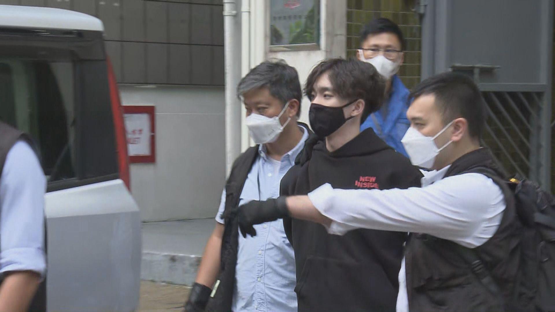 消息:賢學思政三名被捕現任及前任成員下午提堂