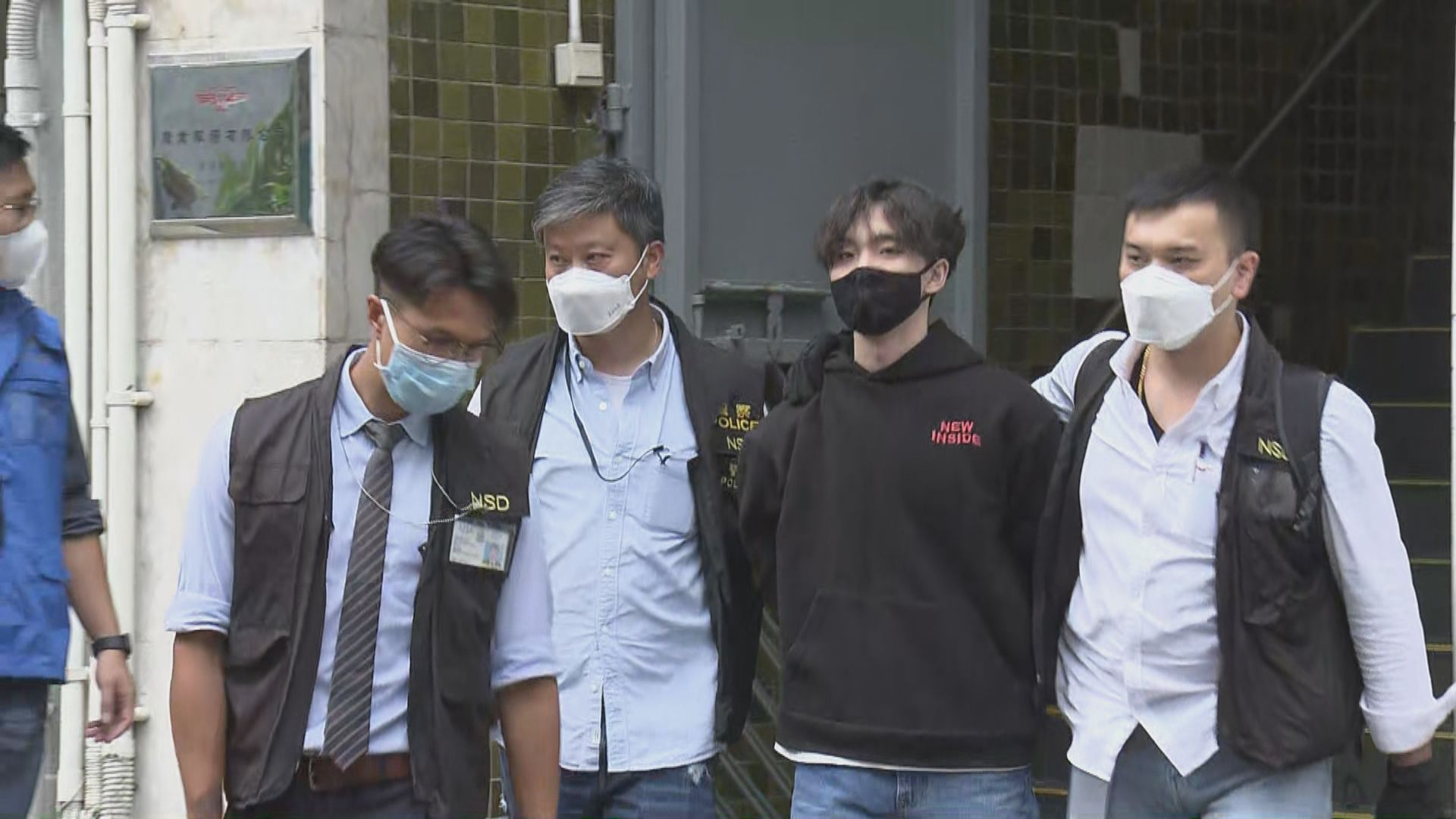 賢學思政三人被控串謀煽動顛覆國家政權 還柙至11月再訊
