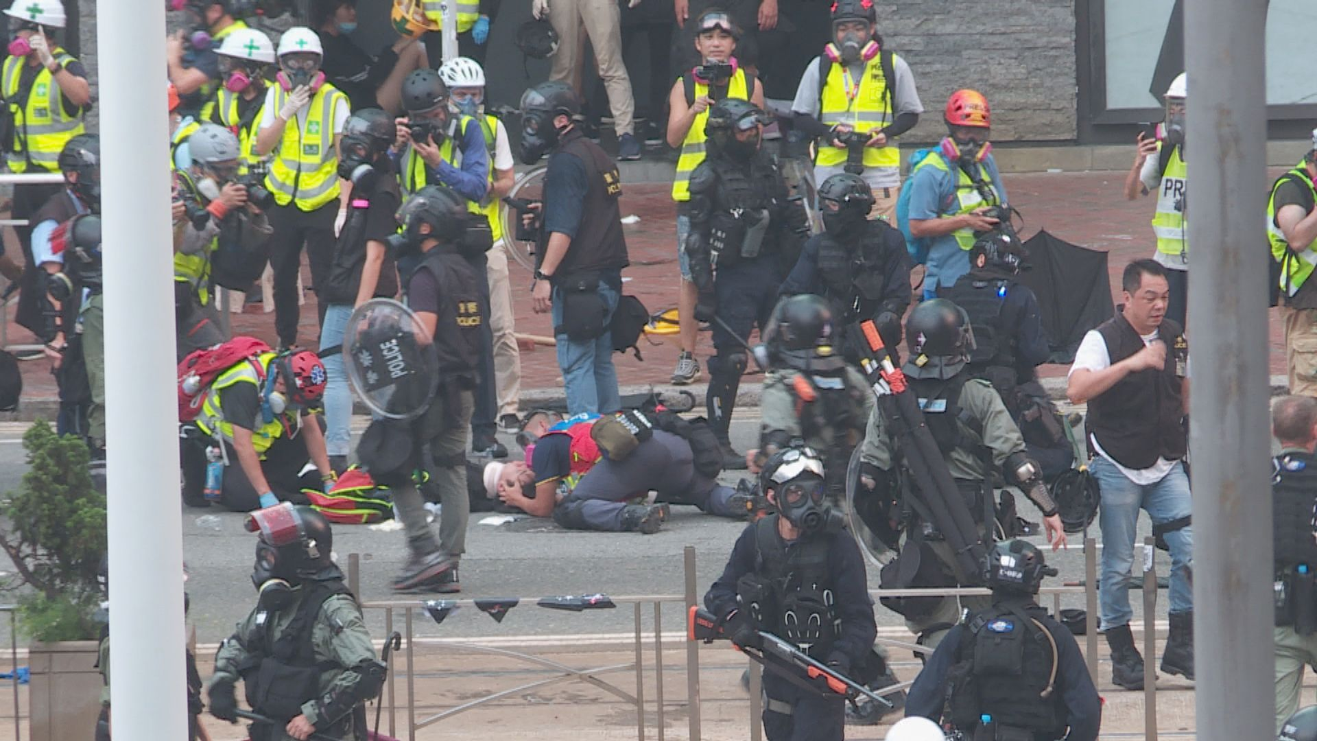 96人被控暴動 押後至明年3月再提堂