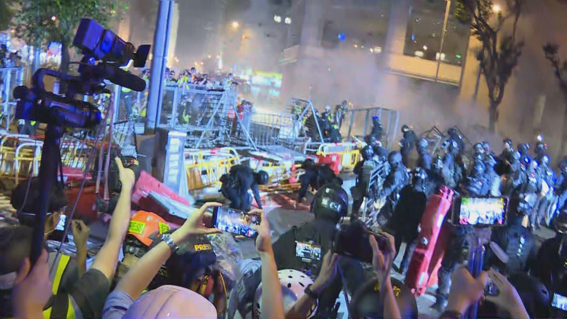 831暴動案續審 警署警長同意有非示威者在現場