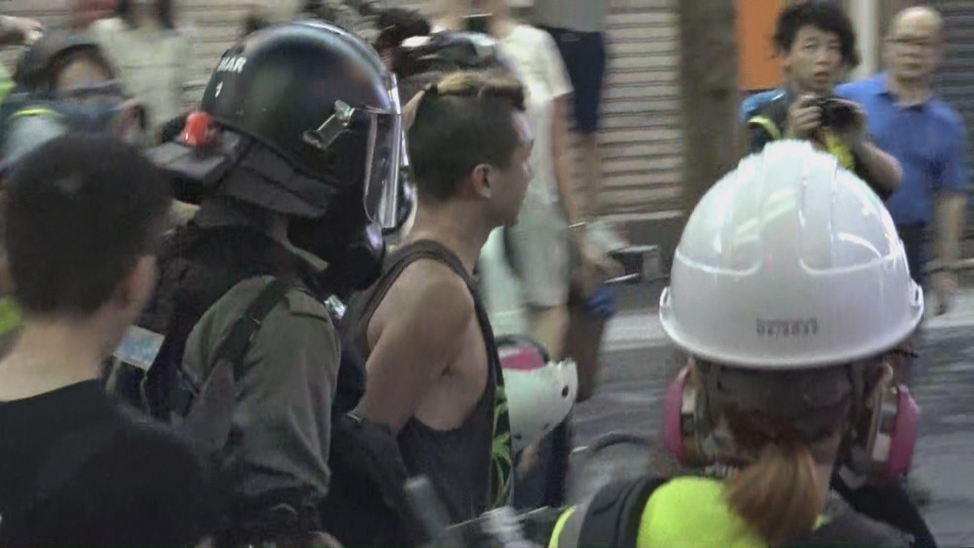 去年8月銅鑼灣衝突 6人暴動罪不成立1人罪成候判