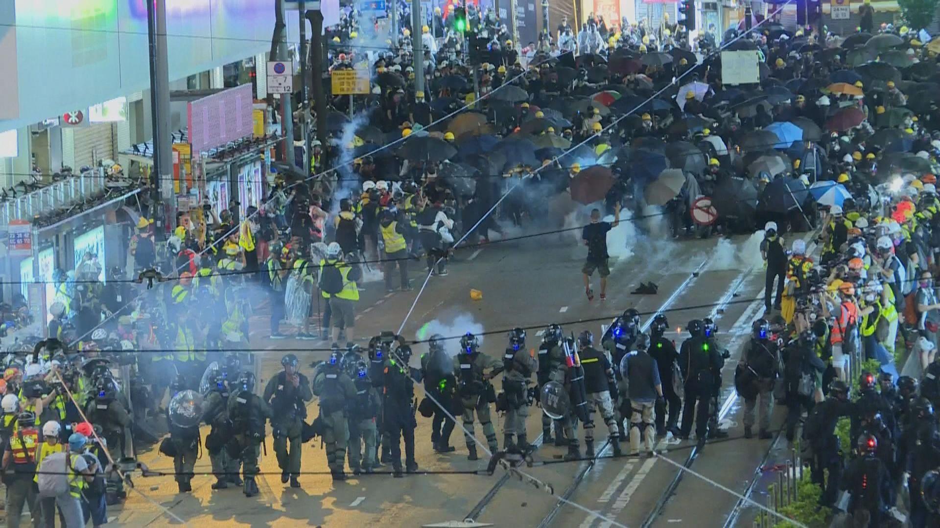 前年831銅鑼灣示威 19歲學生暴動罪名不成立
