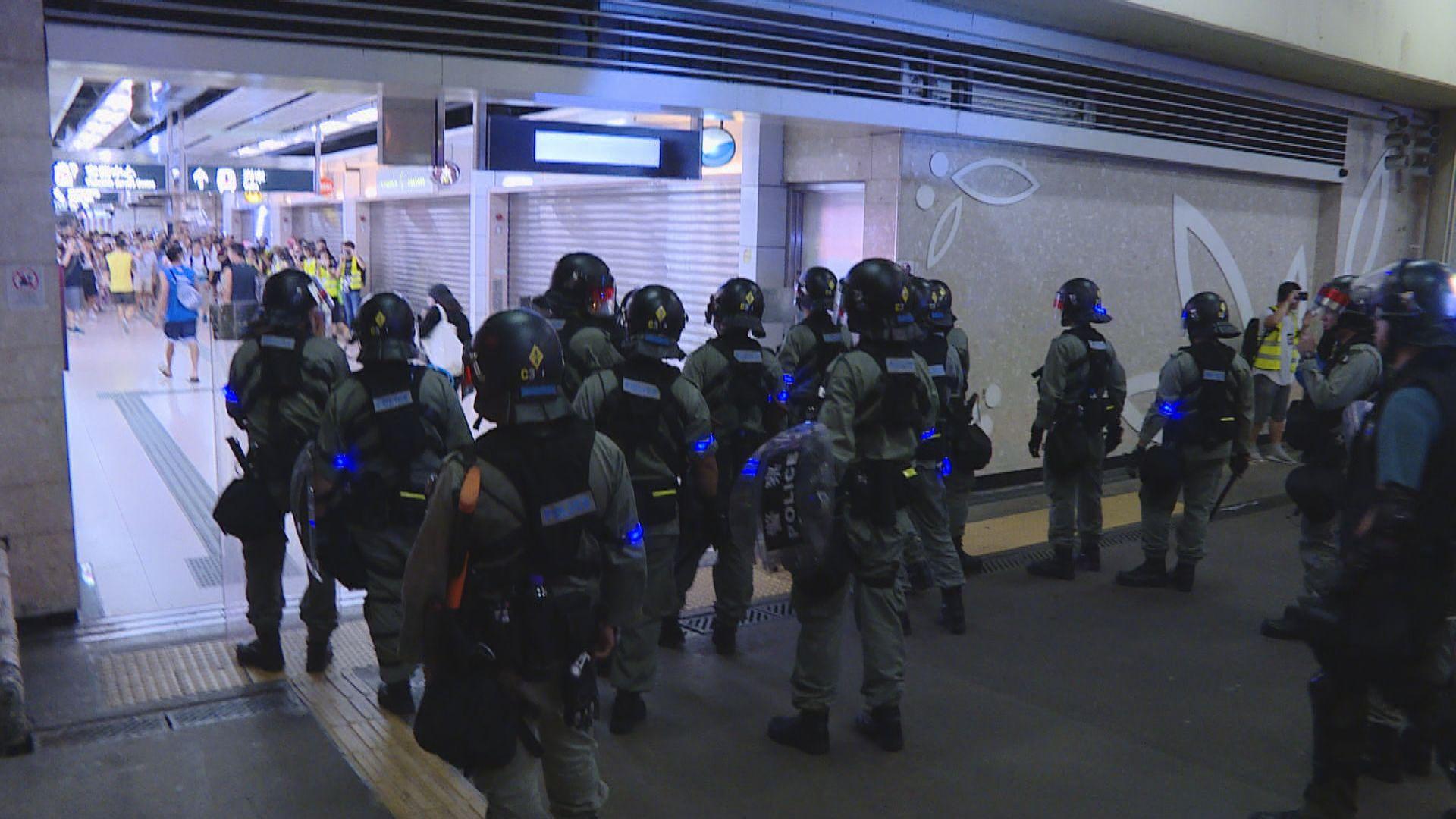 三人涉前年沙田站暴動及襲警等罪成 下月21日判刑
