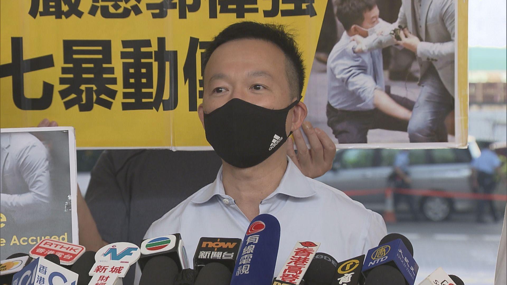 律政司介入私人檢控郭偉强 陳志全不排除司法覆核