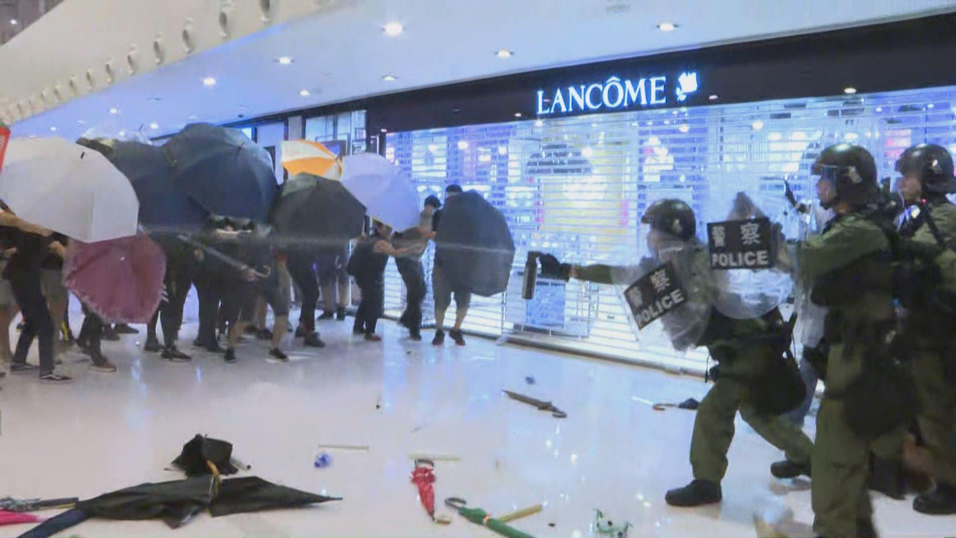 新城市廣場衝突 16歲學生提堂准保釋
