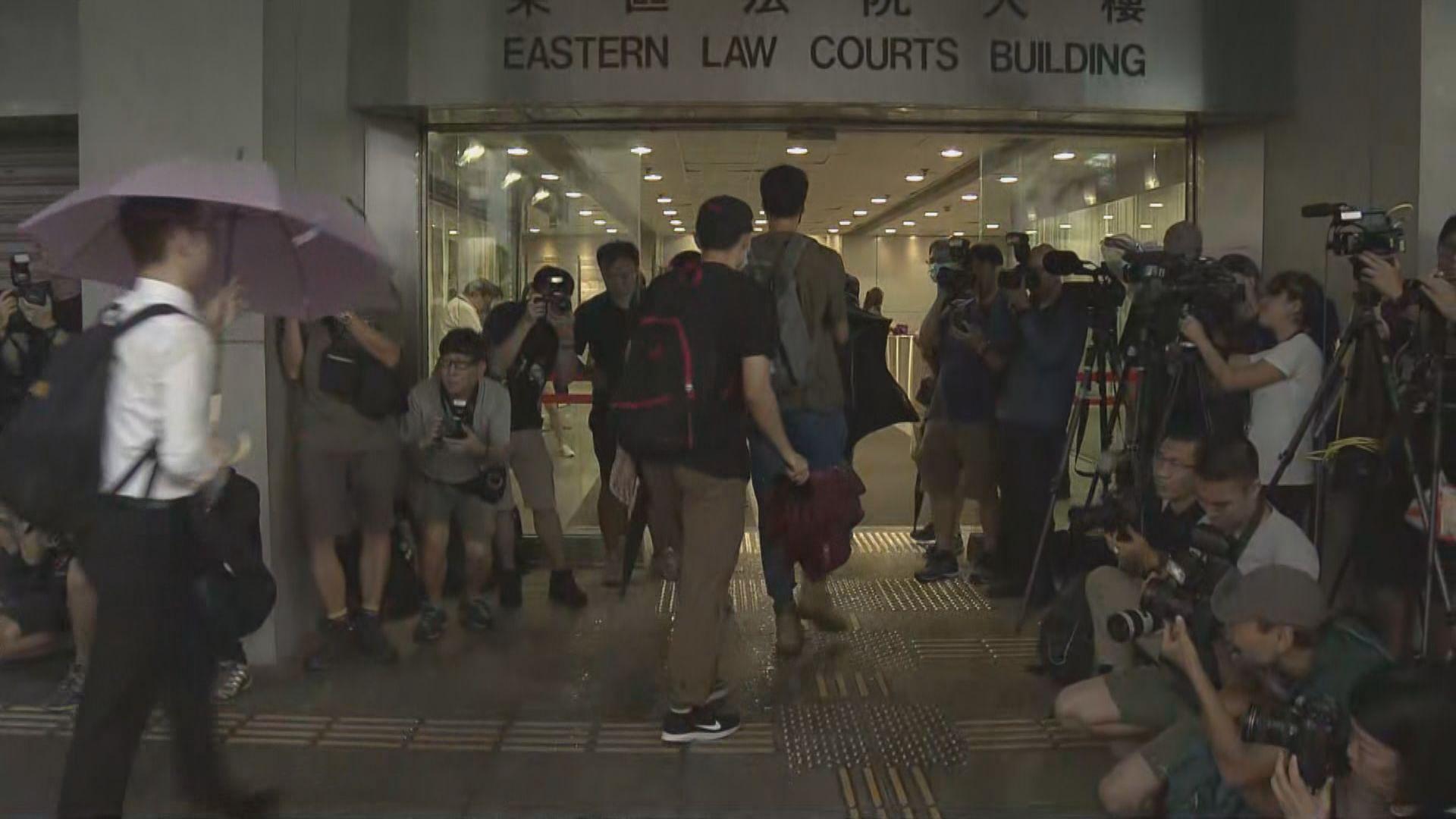 周日衝突44人被控暴動罪 東裁提堂