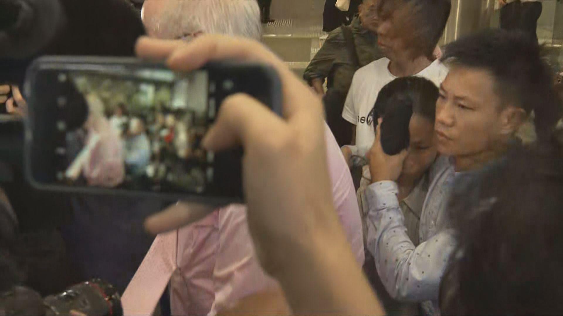 周日上環衝突暴動案 部分人准以一千元保釋
