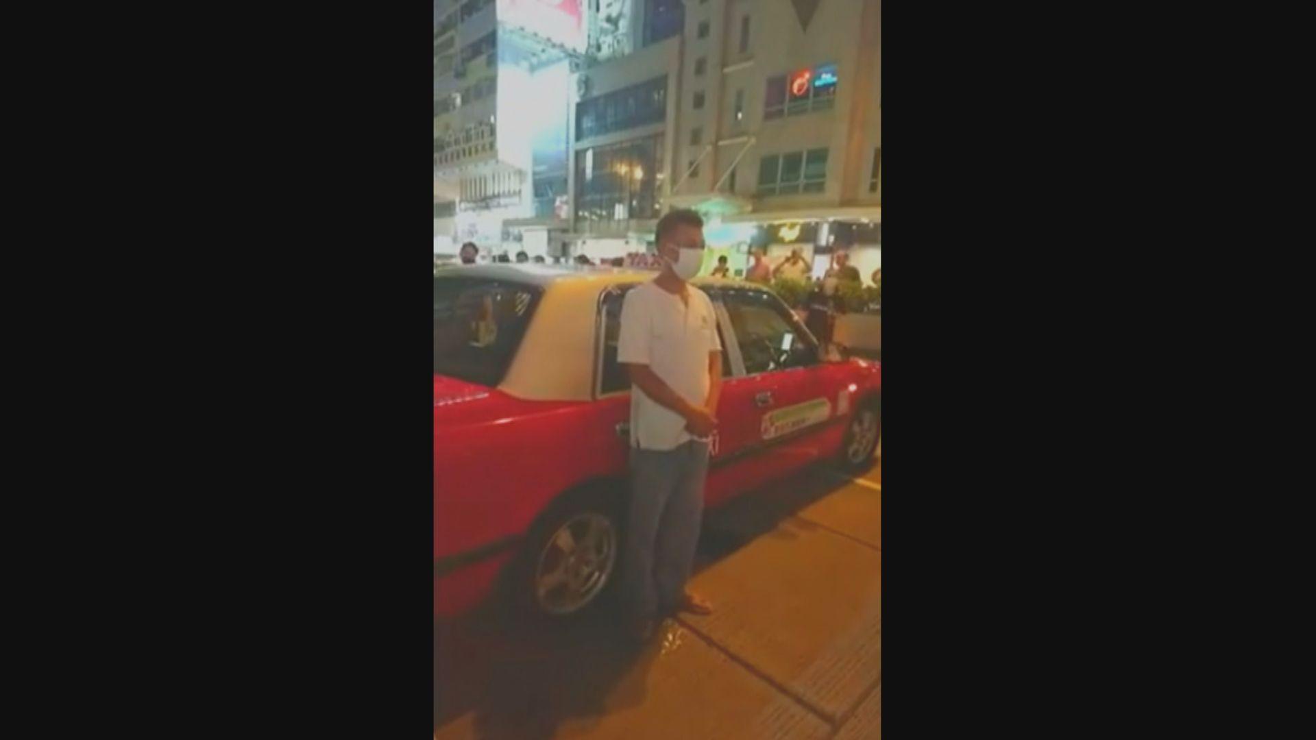 的士司機去年7月用的士阻差辦公襲警醉駕判囚半年
