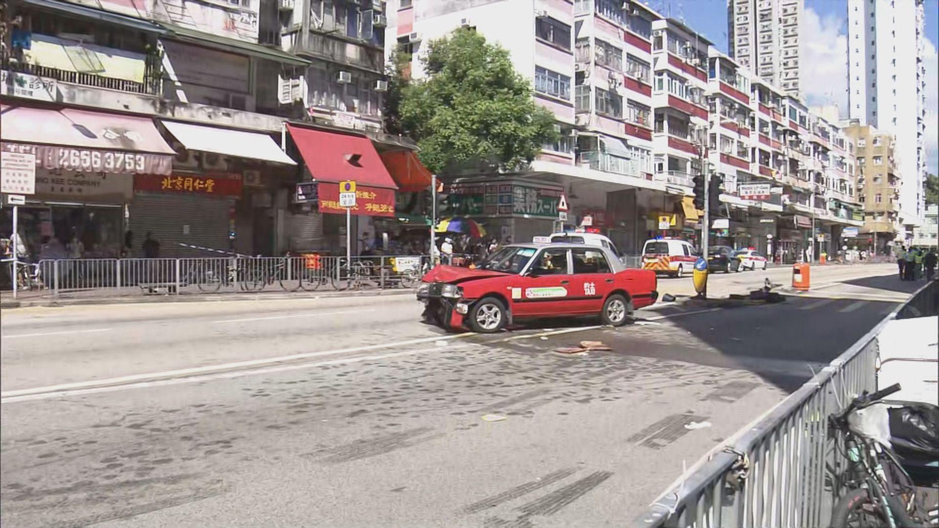 大埔車禍的士司機被控危險駕駛導致他人死亡