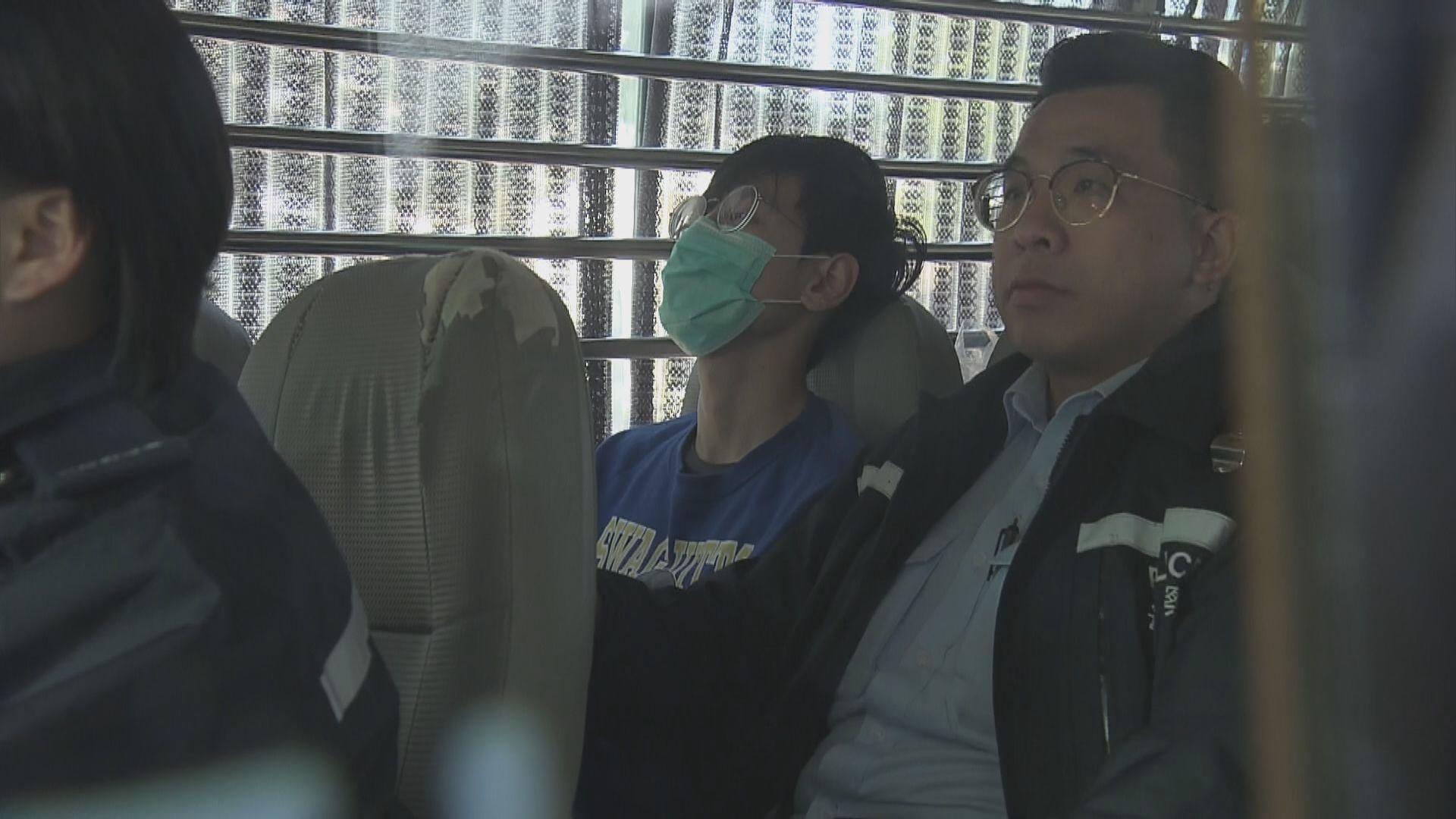 四男子被控管有白電油等非法工具 案件提堂