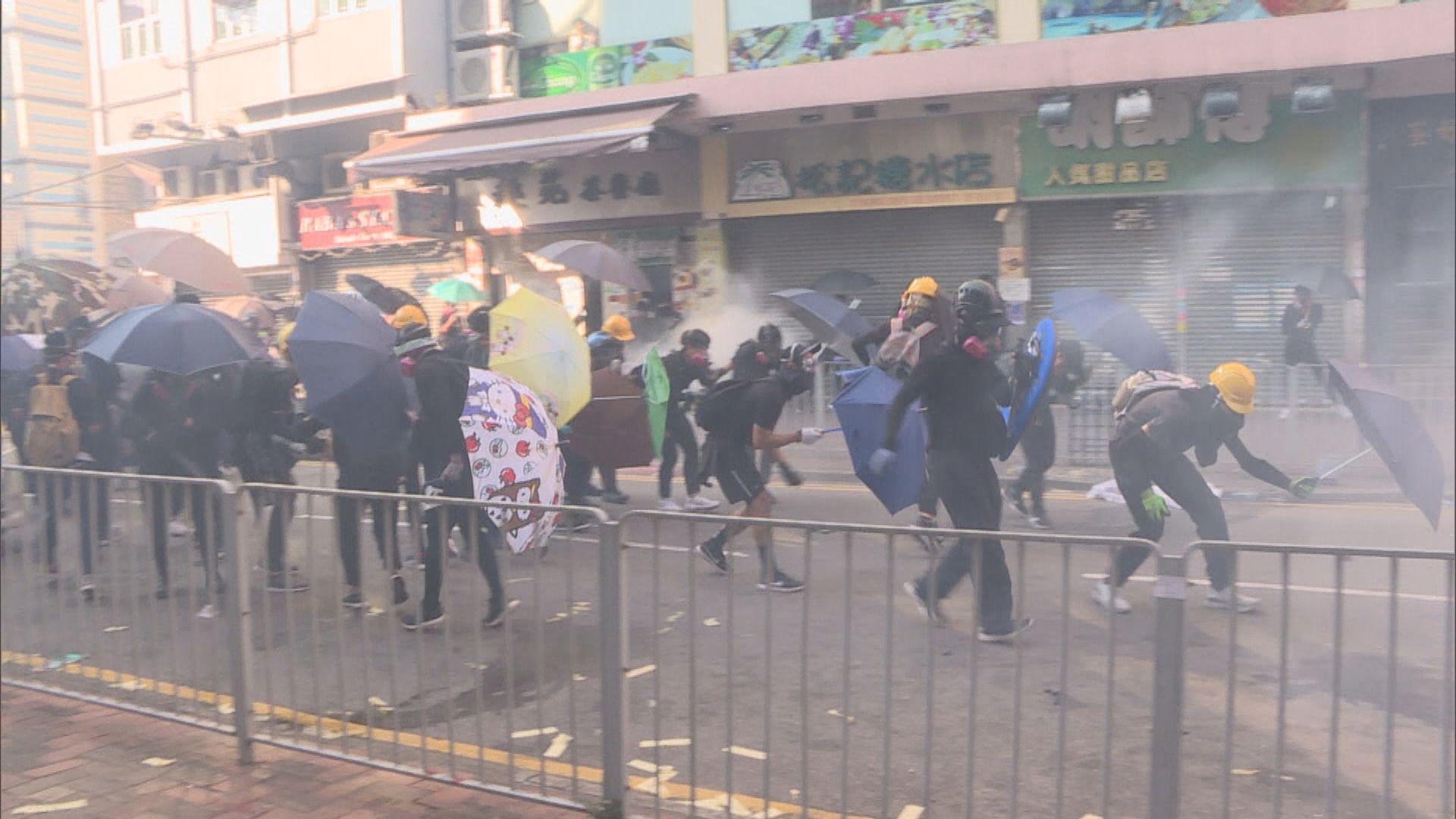 四人前年國慶日在荃灣參與暴動罪成