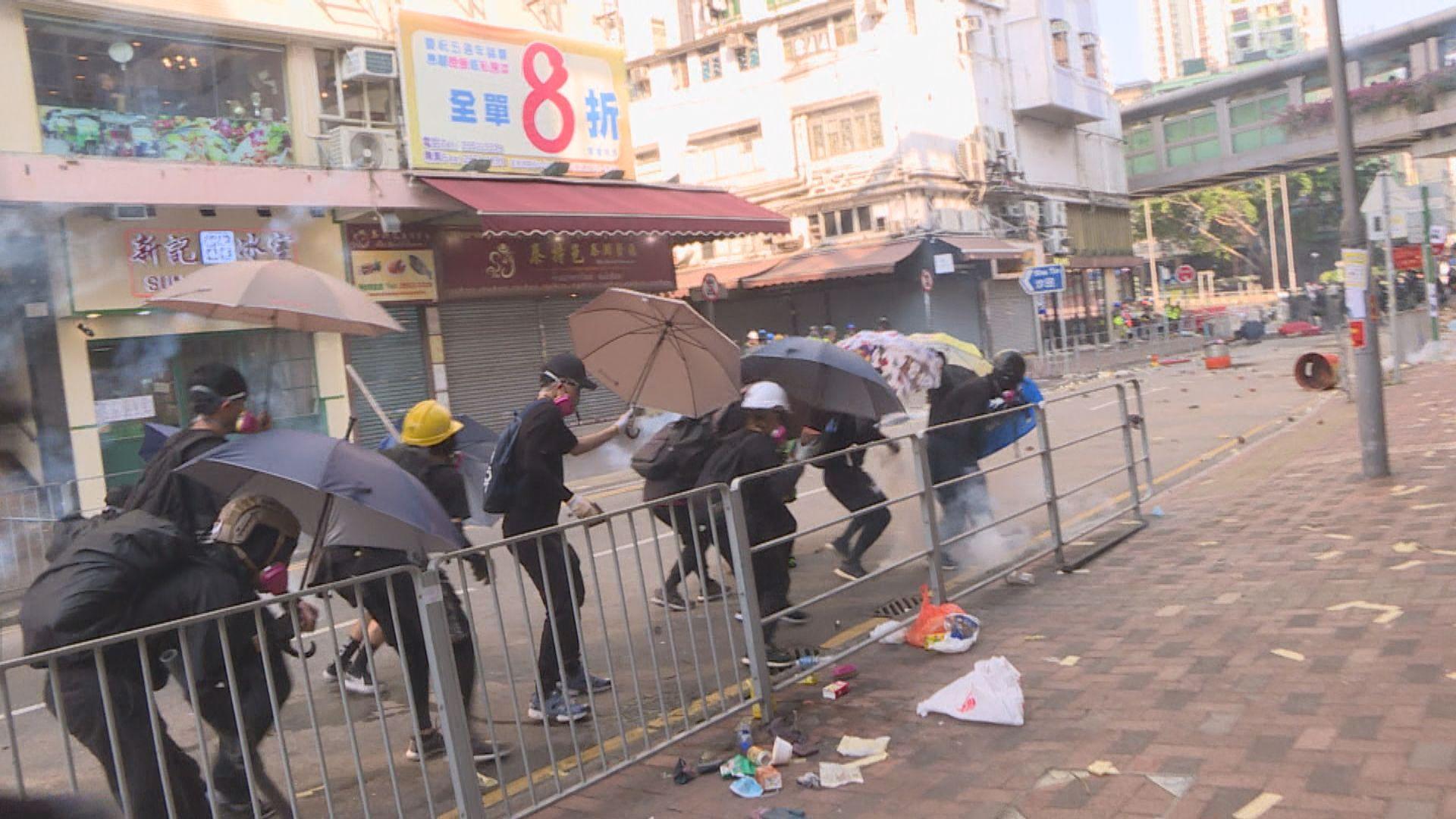 四人前年國慶日參與暴動 囚4年3個月至4年8個月