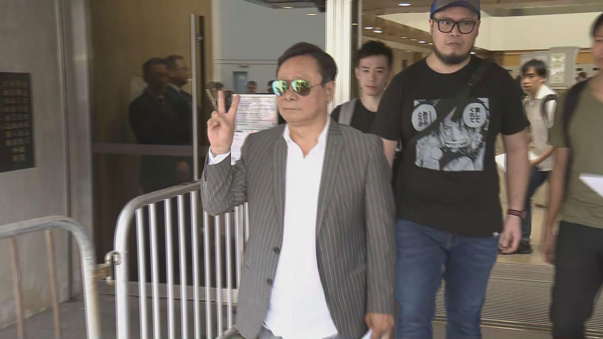 立法會擲杯案 黃毓民上訴得直獲撤銷定罪