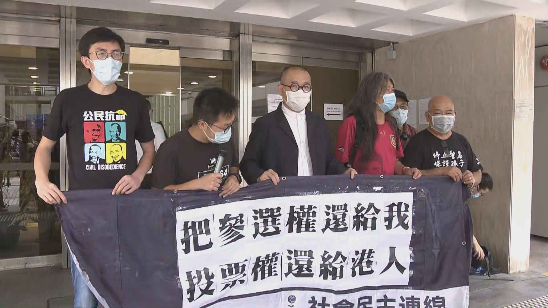 黃浩銘覆核判囚三個月限參選規定 法庭裁定敗訴