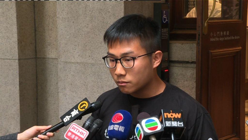 東北案黃浩銘獲釋 對上訴有信心