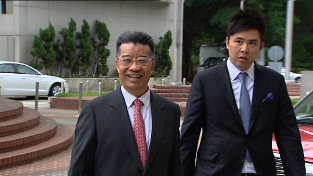 劉夢熊就妨礙司法公正定罪申請上訴許可