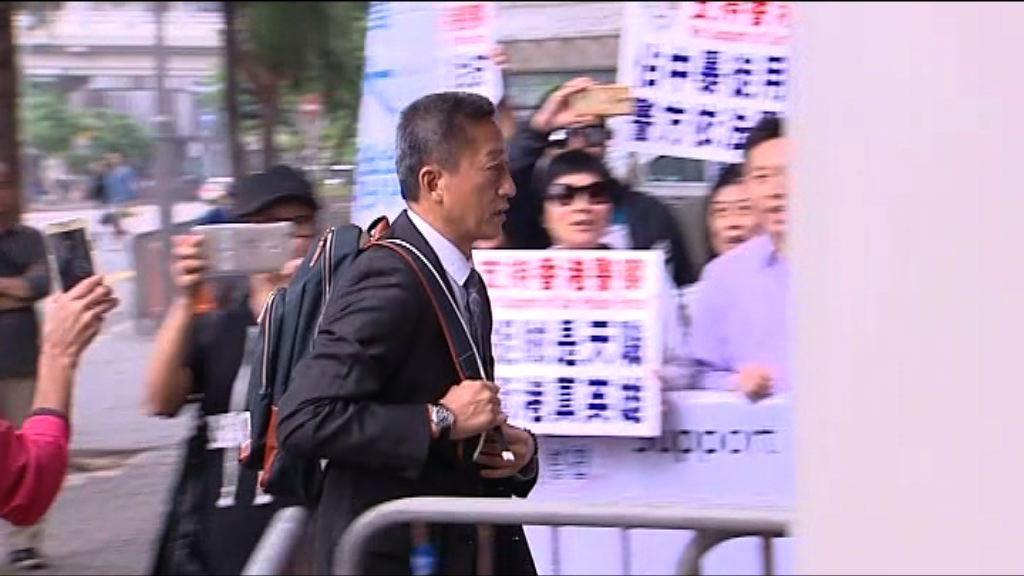 朱經緯涉棍毆途人案 控方宣讀朱經緯聲明