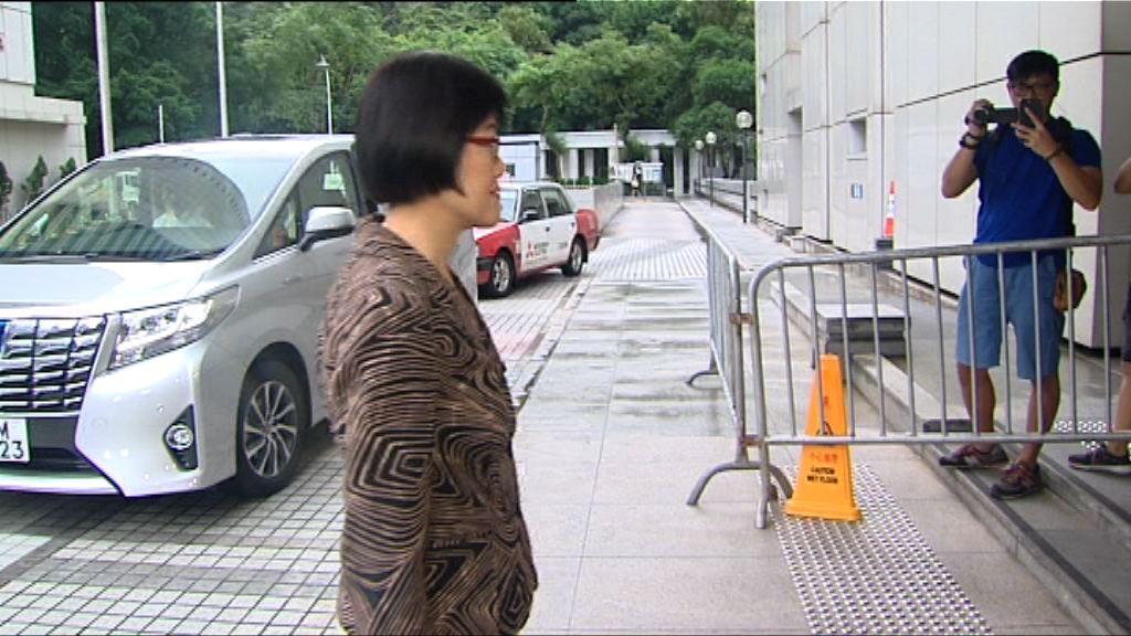 曾蔭權案陪審員被要求上班 陳漢儀向法庭致歉