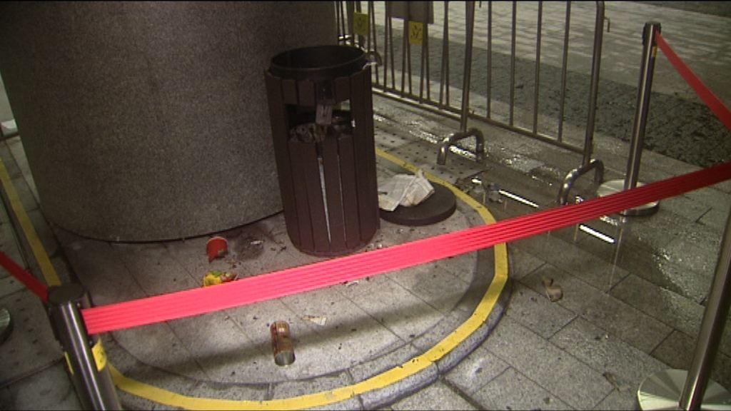 立會垃圾桶縱火案 官指理想崇高亦不應違法