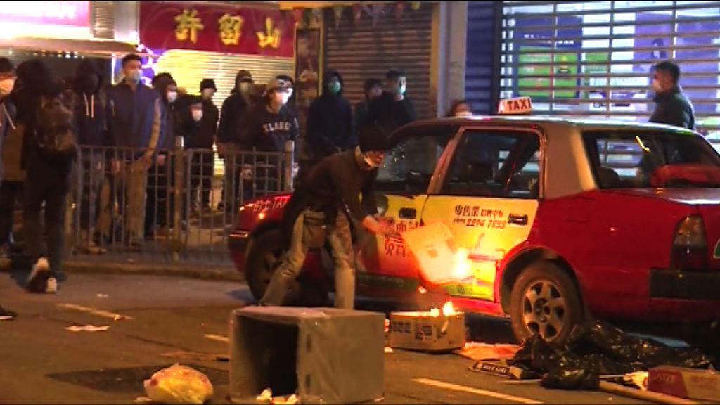 旺角騷亂 男子暴動縱火罪判囚四年九個月