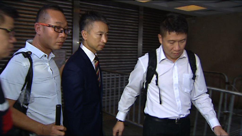七警案 高院周四審理黃祖成上訴許可申請