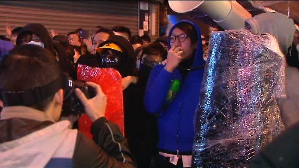 梁天琦等五人旺角暴動案續審 控方傳警員作供