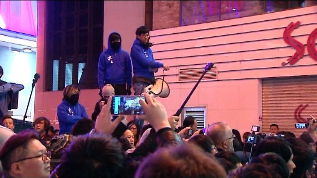 旺角騷亂 梁天琦:黃台仰曾籲人群散開但被喝倒采