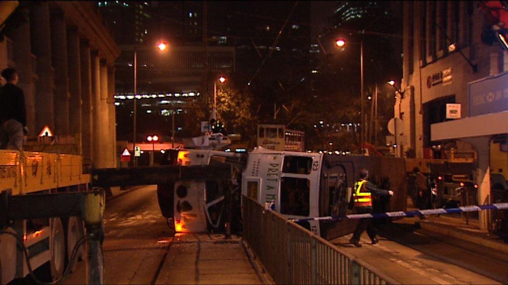 電車司機超速駕駛致電車脫軌翻側 囚11個月