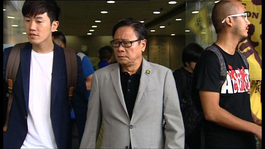 擲杯案囚兩周 黃毓民批是政治審判