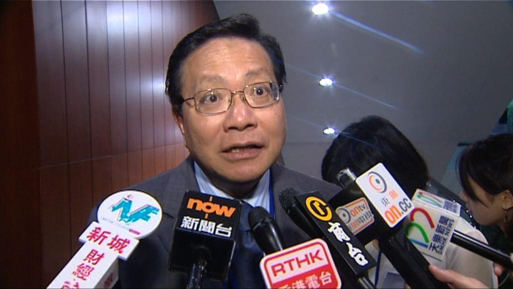 張炳良對陳帆接任運房局局長有信心