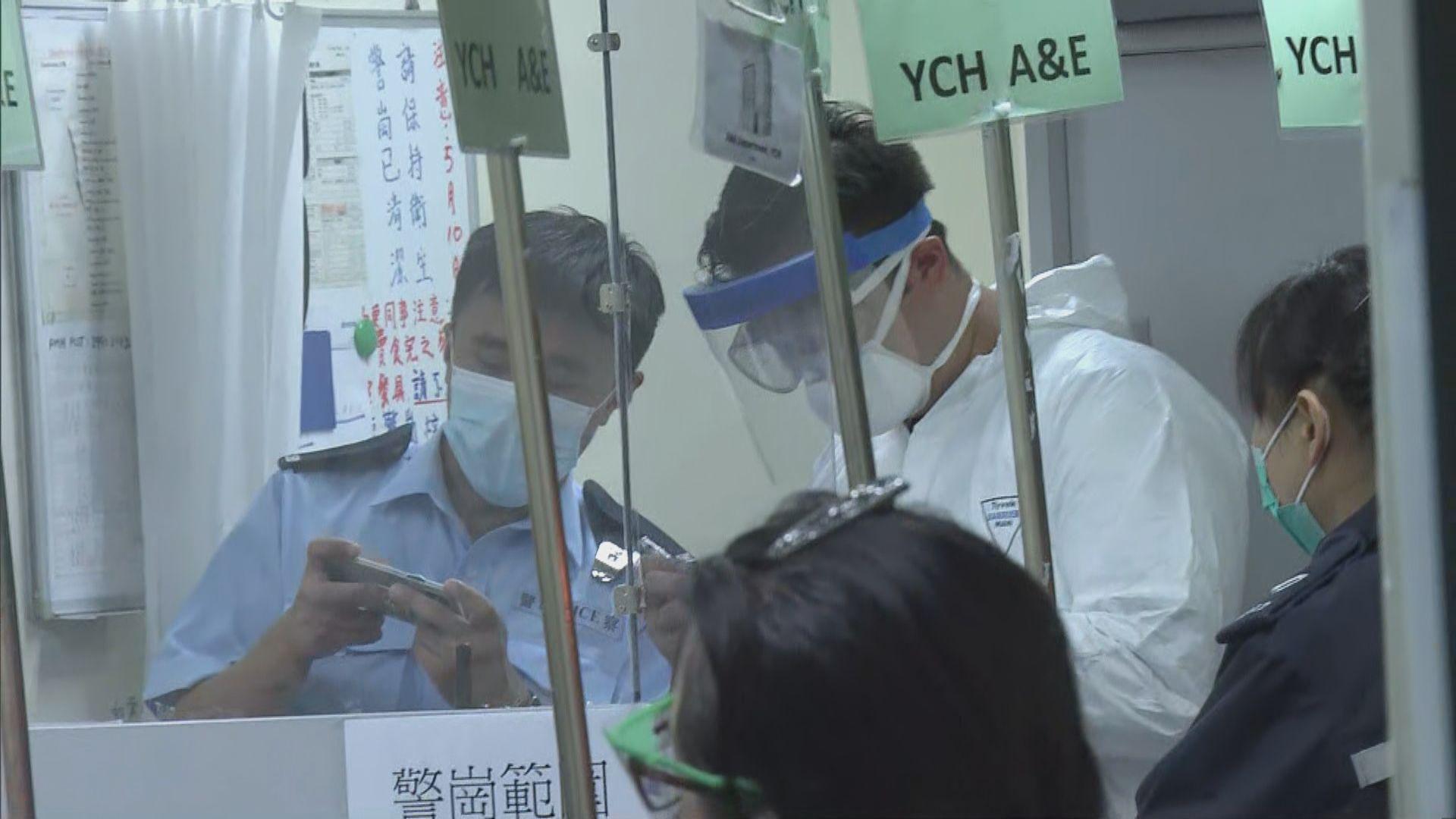 在檢疫中心接受強制隔離男子疑擅自離營 其後被截獲