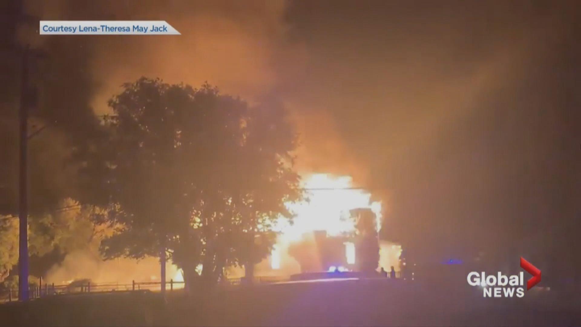 加拿大再有原住民社區教堂疑遭縱火