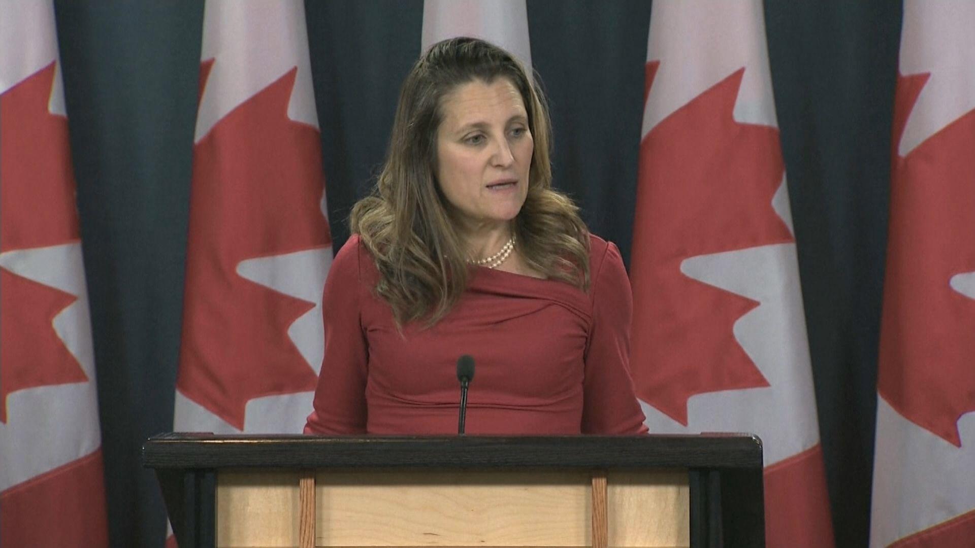 加拿大首次正式要求中方釋放兩名公民