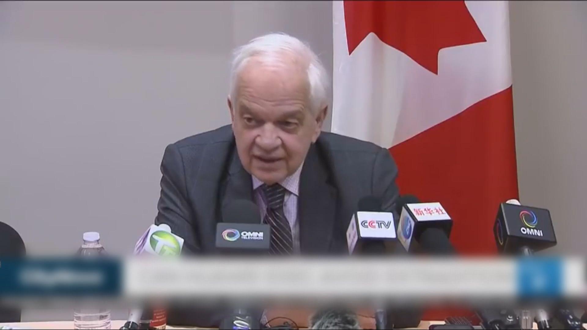 杜魯多辭退加拿大駐華大使麥家廉