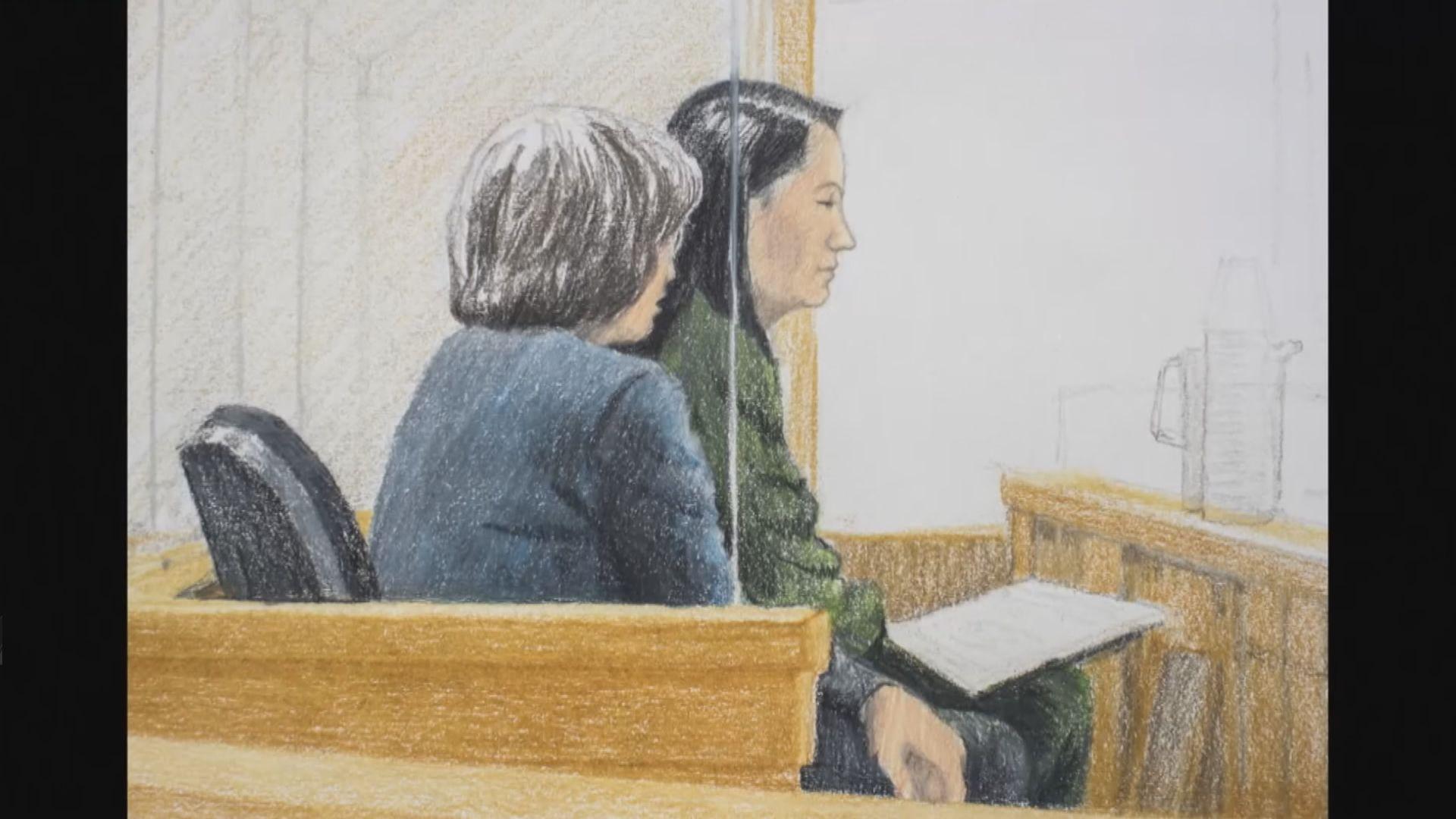 孟晚舟申請保釋聆訊未有判決