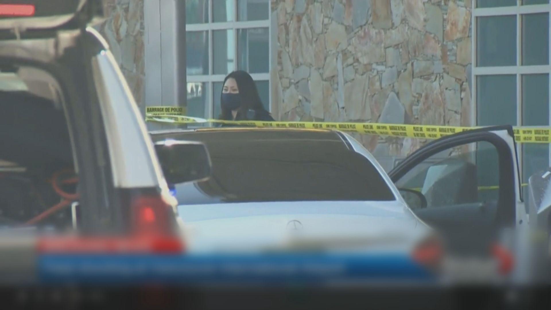 溫哥華國際機場槍擊案釀一死 當局追捕最少2名疑犯