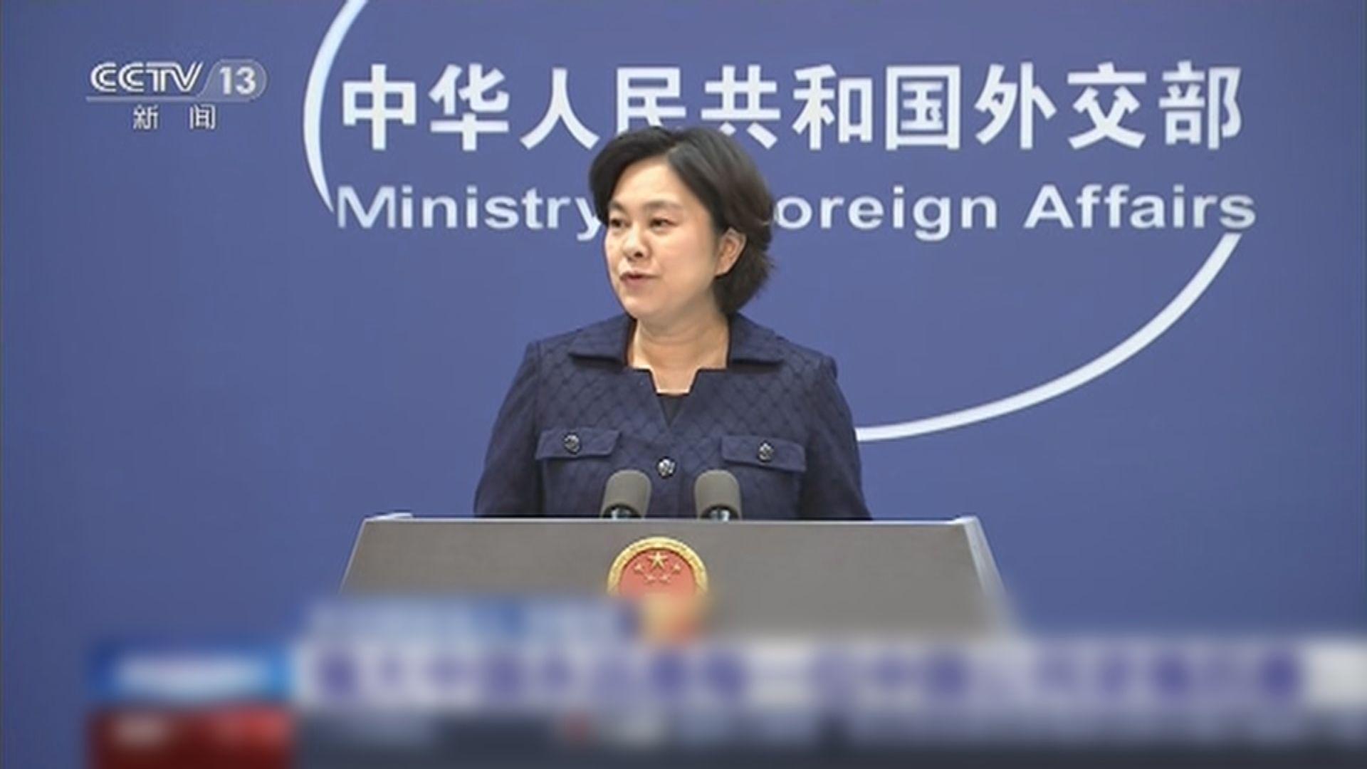 外交部:習近平主席親自關心孟晚舟事件