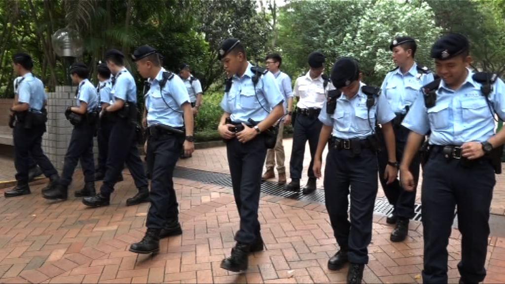 警方九龍公園發現鐵錘與金行劫案有關