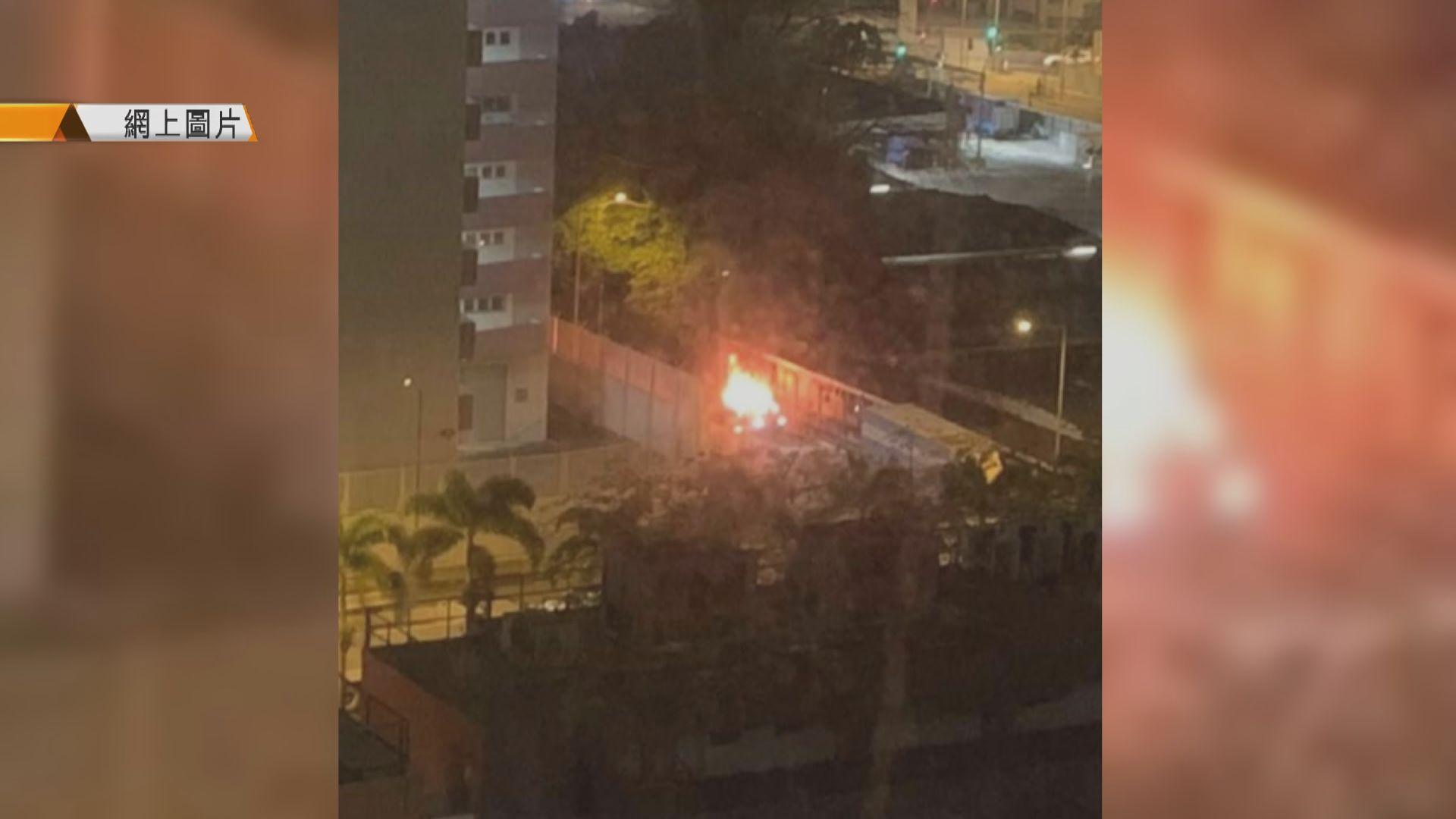 長沙灣縱火燒車涉月初油麻地劫案